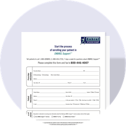 Download the ENBREL Support® Fax Form to help patients start and stay on Enbrel® (etanercept)